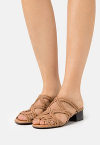 See by Chloé - KATIE MULE - Pantofle - light pastelbrown - 0