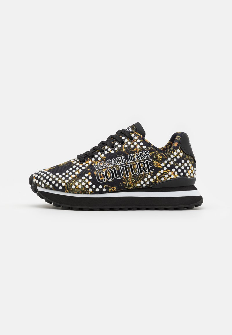 Versace Jeans Couture - SPYKE - Trainers - nero/oro
