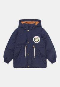 Mini Rodini - POLAR BEAR PATCH PUFFER UNISEX - Winter coat - navy - 0