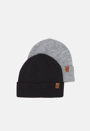 2 PACK - Bonnet - black/grey