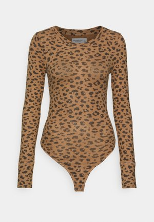 COZY BODYSUIT - Sweter - brown