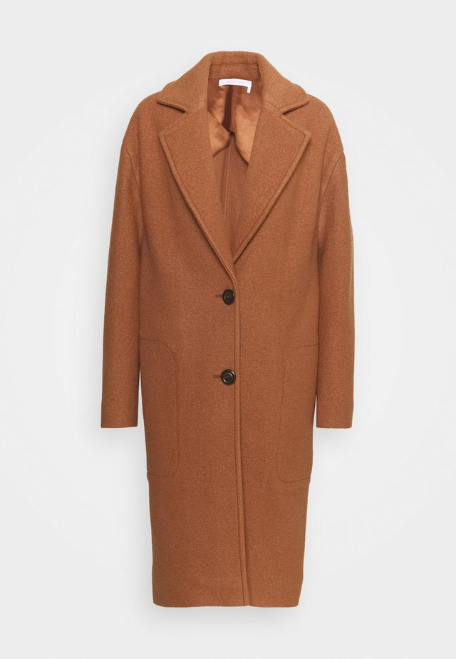 Classic coat - pottery brown