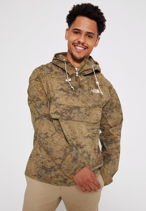 PRINTED CLASS FANORAK - Outdoor jacket - olive