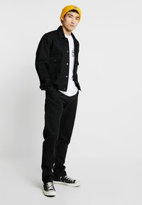 Carhartt WIP - RUCK SINGLE KNEE PANT MILLINGTON - Trousers - black stone washed - 1