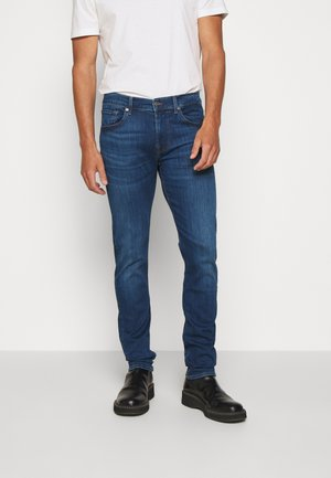 SLIMMY STRETCH TECH - Slim fit jeans - dark blue