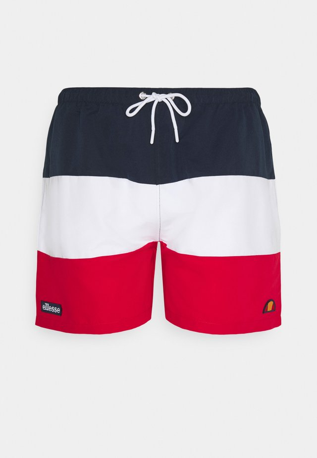 CIELO - Swimming shorts - navy/white/red