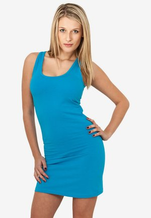 Jersey dress - turquoise