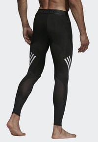 adidas Performance - Alphaskin Sport+ Long 3-Stripes Tights - Leggings - black - 1