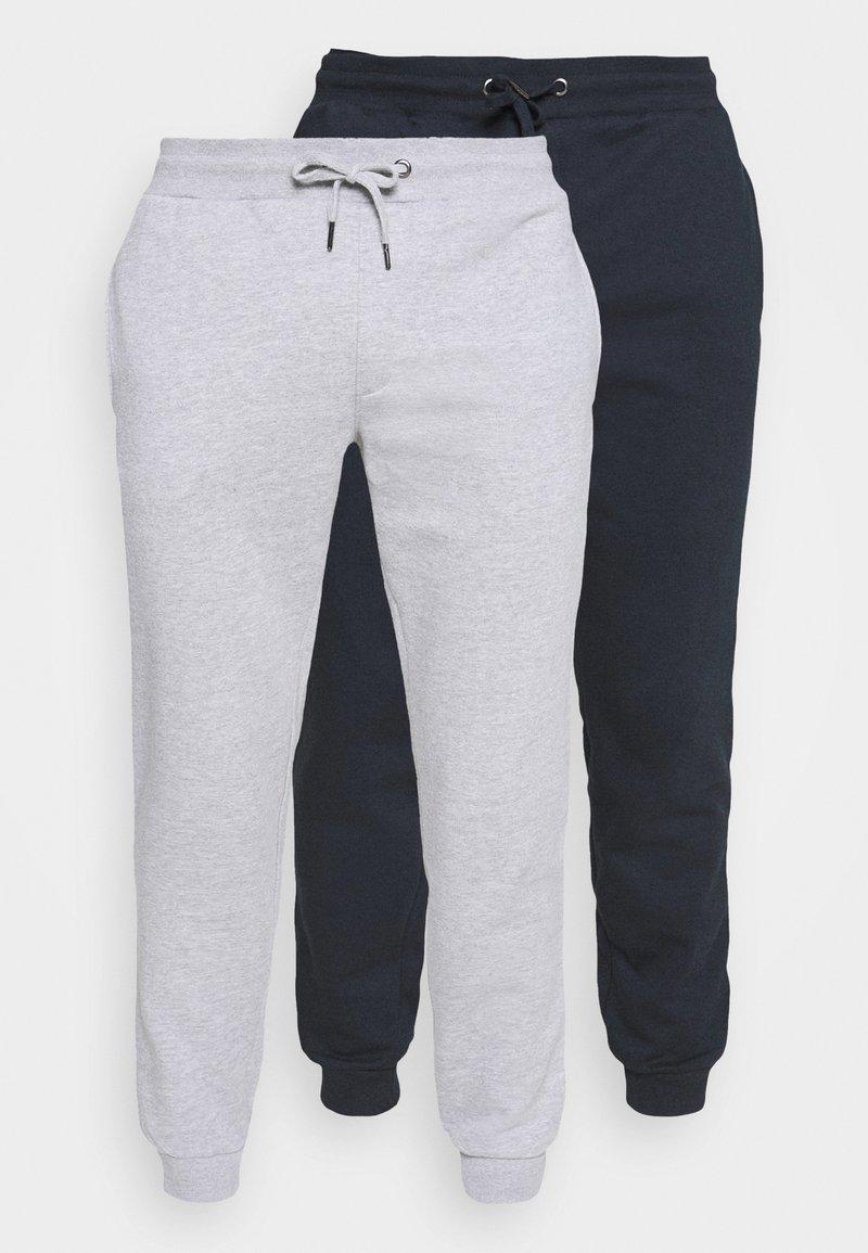 Burton Menswear London - 2 PACK - Tracksuit bottoms - navy