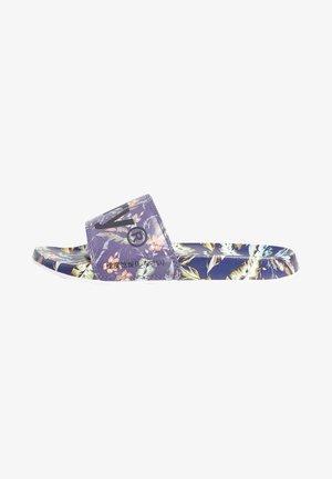 PRINTED  - Pool shoes - indo leaf