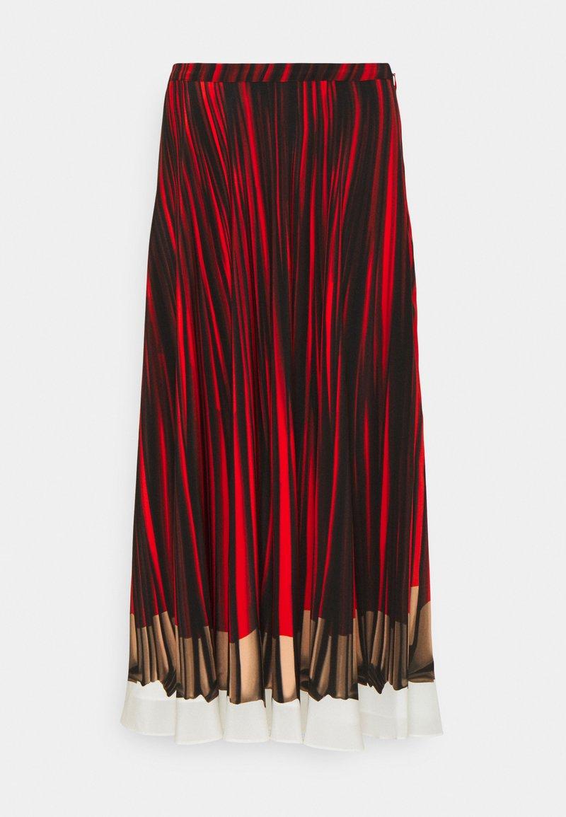Paul Smith - WOMENS SKIRT - A-line skirt - red/black