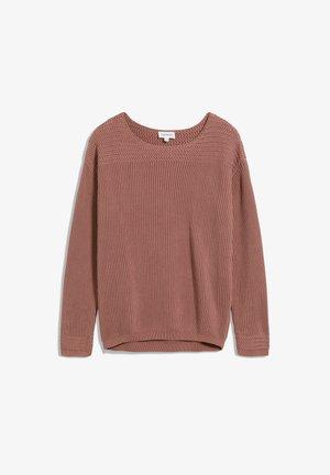 Sweatshirt - natural dusty rose