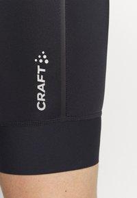 Craft - BIB SHORTS  - Leggings - black - 5