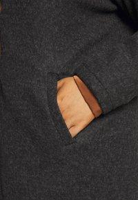 Vero Moda Curve - VMBRUSHEDKATRINE - Light jacket - dark grey melange - 5