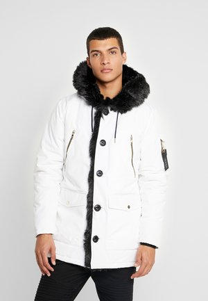 PARKLEA - Winter coat - white