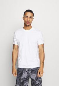 Champion - LEGACY CREW NECK 2 PACK - T-shirt basic - white/navy - 1