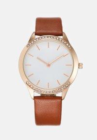 Anna Field - Watch - cognac/rose gold-coloured - 0