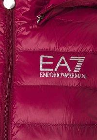 EA7 Emporio Armani - JACKET - Jas - beet red - 4