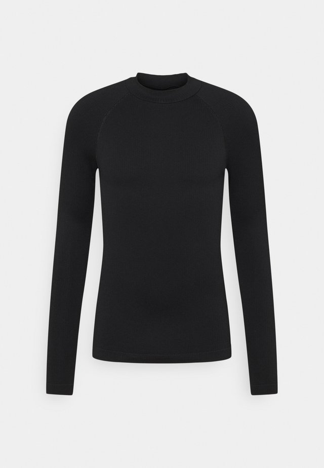 GALLUCKS X NU IN COLLECTION HIGH NECK COMPRESSION TO - Jumper - black