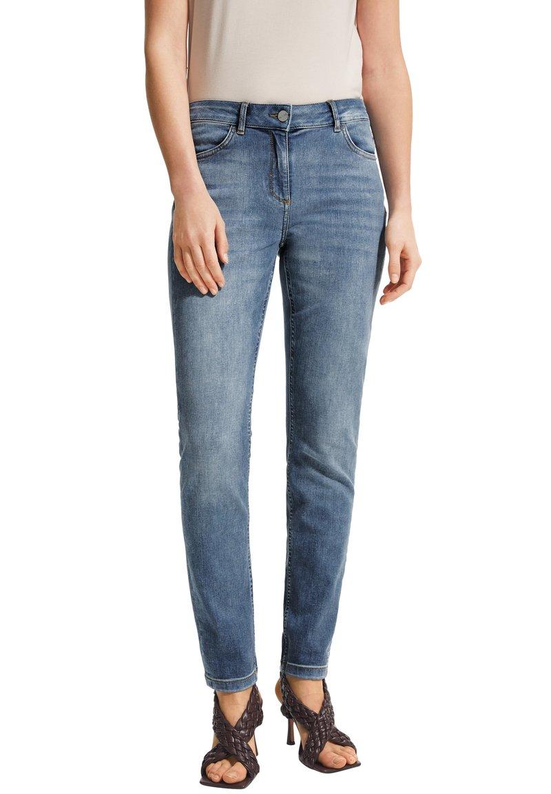 comma - Slim fit jeans - blue