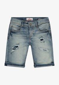 Vingino - CLAAS DAMAGE - Denim shorts - light vintage - 0