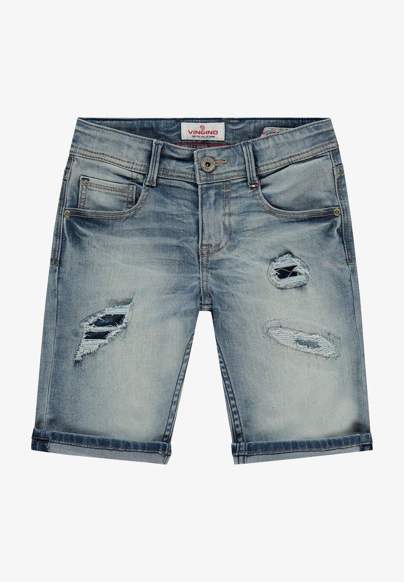 Vingino - CLAAS DAMAGE - Denim shorts - light vintage