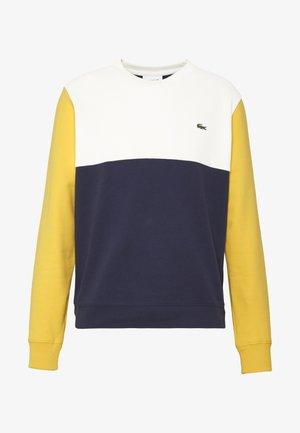 Sweatshirt - marine/farine/daba