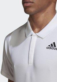 adidas Performance - FREELIFT TENNIS POLO SHIRT HEAT.RDY - Polo shirt - white - 5