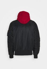 Alpha Industries - Light jacket - black/red - 1