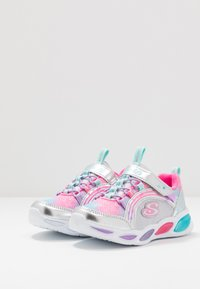 Skechers - SHIMMER BEAMS - Trainers - silver/multicolor - 3