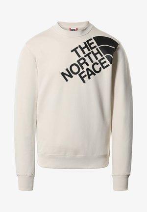 Sweatshirt - vintage white/tnf black