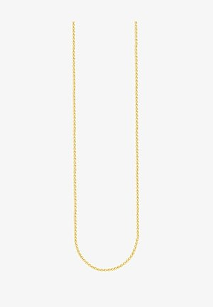 Necklace - yellowgold-colored