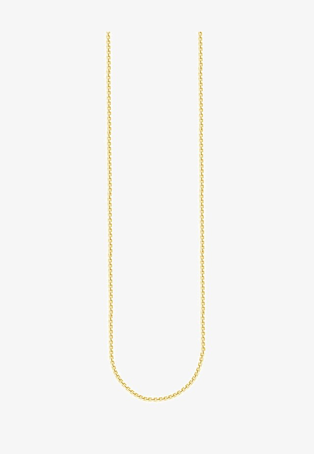 Collier - yellowgold-colored