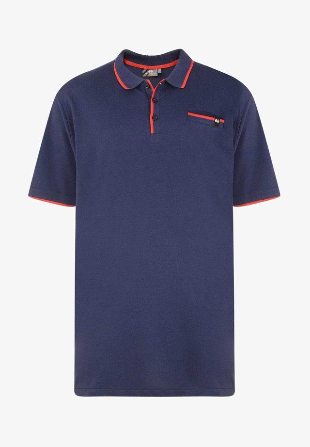 CROSSHATCH  - Polo shirt - blue