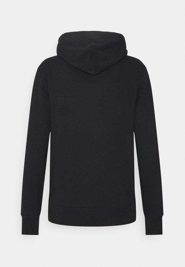 Champion Rochester HOODED FULL ZIP - Bluza rozpinana - black/czarny Odzież Męska PBYK