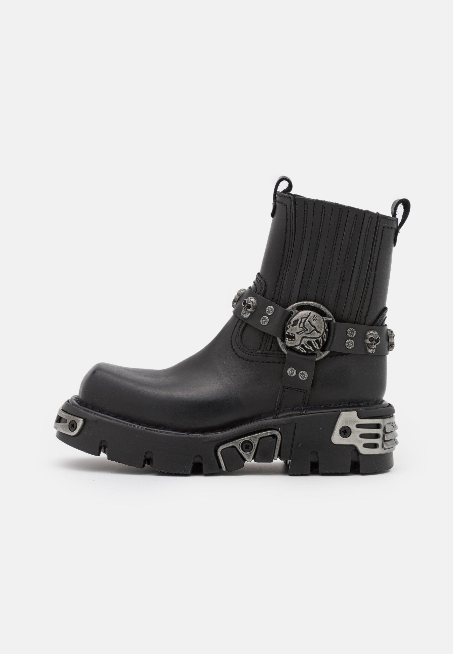Men UNISEX - Platform ankle boots