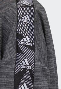 adidas Performance - Sweatshirt - dark grey heather/white - 6