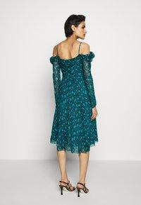 Diane von Furstenberg - LILITH - Vapaa-ajan mekko - green - 2
