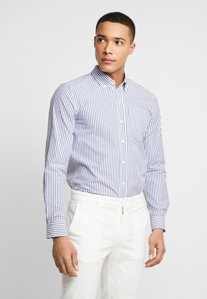 THE ORGANIC STRIPED - Camicia - blue