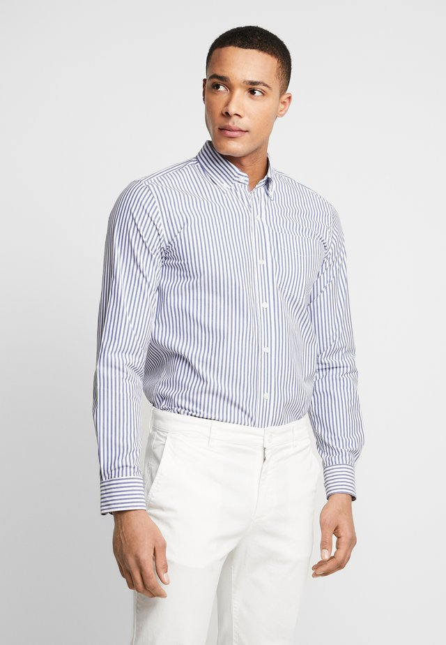 THE ORGANIC STRIPED - Shirt - blue