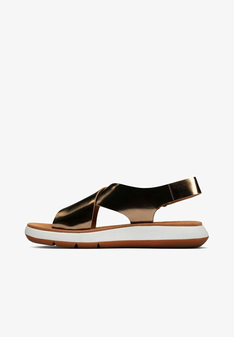 Clarks - JEMSA CROSS - Sandalias - copper metallic