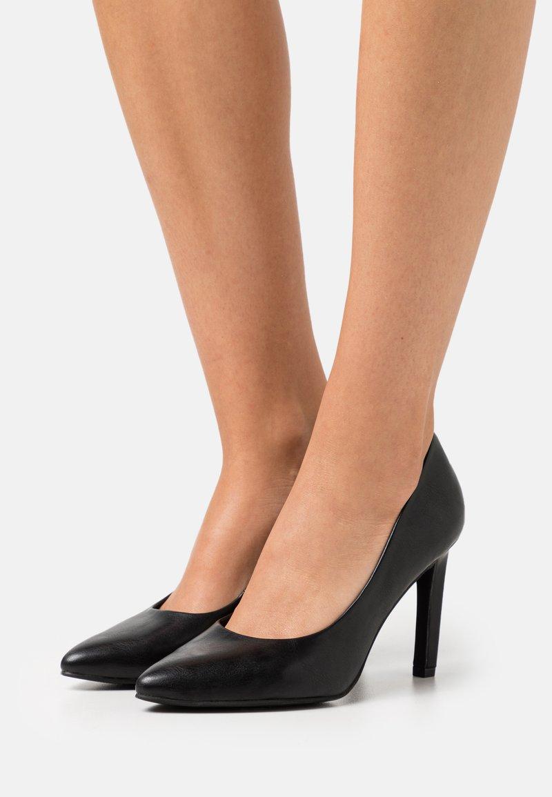 Marco Tozzi - COURT SHOE - High heels - black