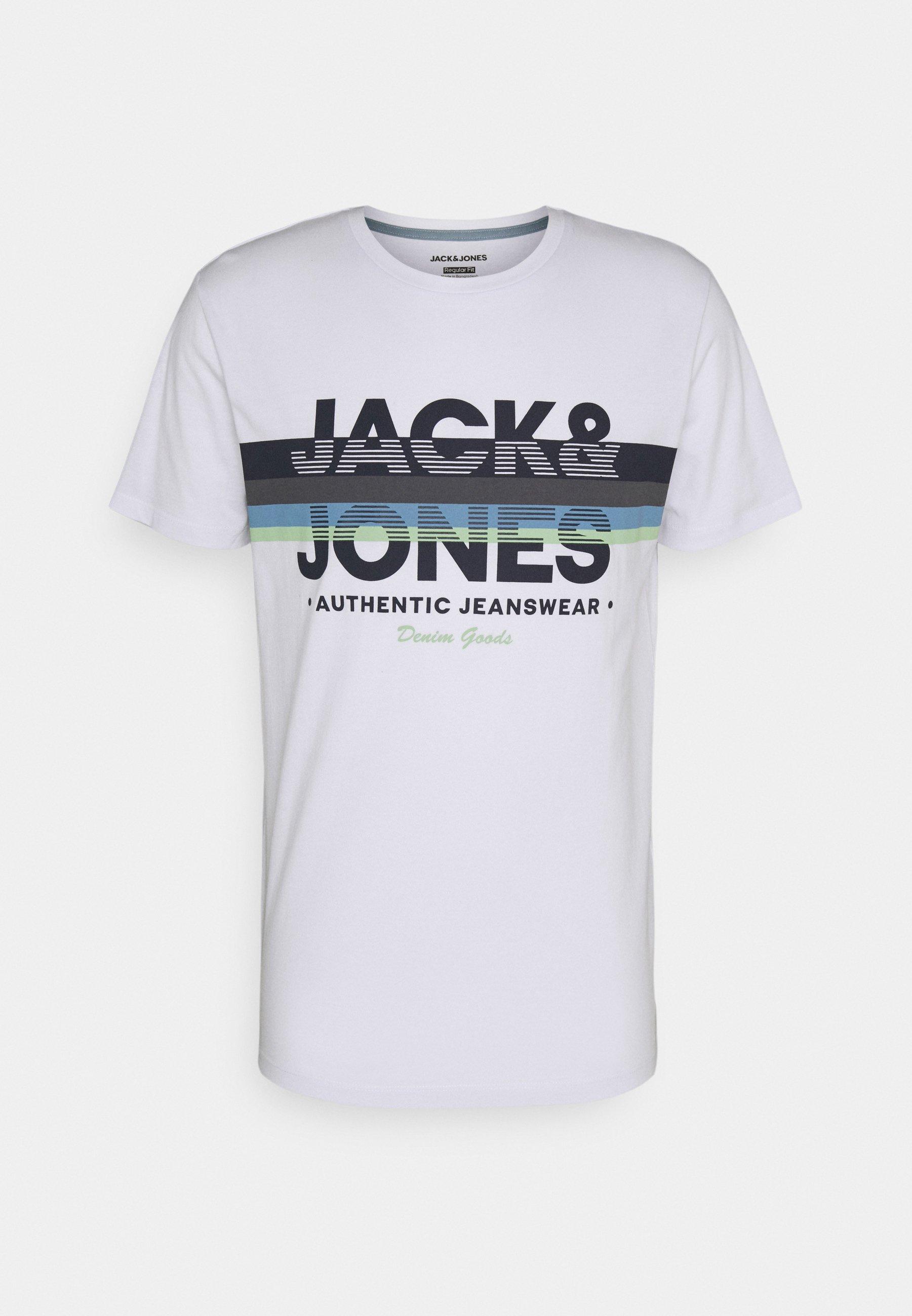 Men JJDRY TEE CREW NECK - Print T-shirt