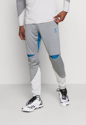 HMLINVICTA - Pantalones deportivos - sharkskin/gray violet