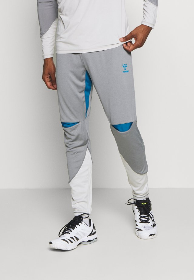HMLINVICTA - Pantalon de survêtement - sharkskin/gray violet
