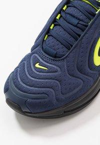 Nike Sportswear - AIR MAX 720 - Trainers - midnight navy/black/lemon - 2