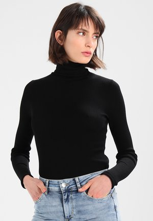 WHITNEY - Long sleeved top - black