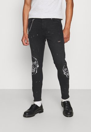 SKULL - Jeans Skinny Fit - charcoal