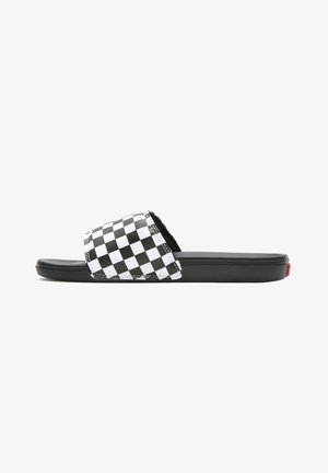 MN LA COSTA SLIDE-ON - Pool slides - (checkerboard) true white/black