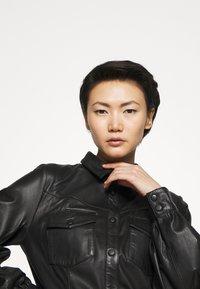Bruuns Bazaar - PECAN ZADENA DRESS - Košilové šaty - black - 5